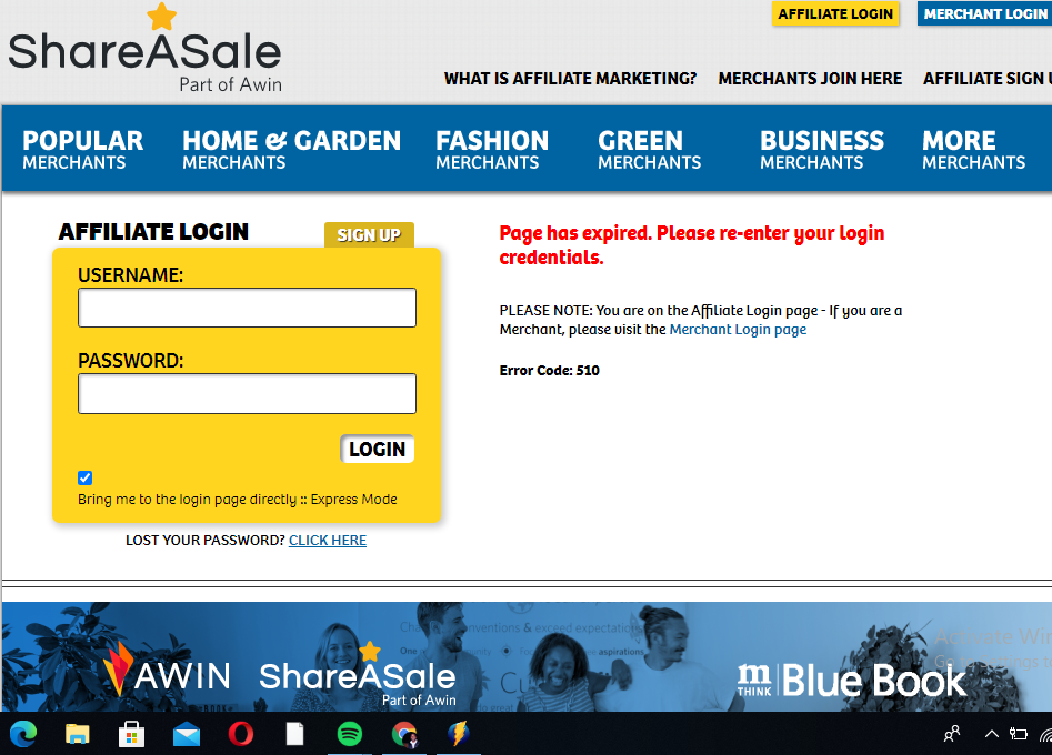 shareasale affiliate network